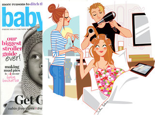 Illustration for the Us magazine Babytalk