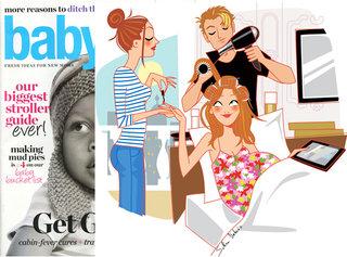 Illustration for the Us magazine Babytalk