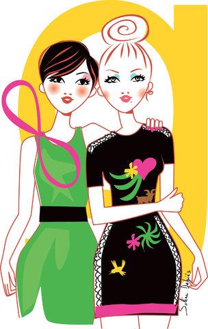 Illustration for ELLE magazine India