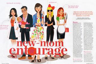 Illustration pour le magazine US Parenting