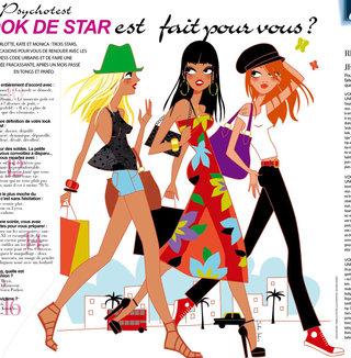 Illustration pour le magazine Gala