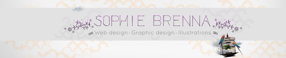 Le book Webdesign, graphique, illustrations : Sophie Brenna : Ultra-book