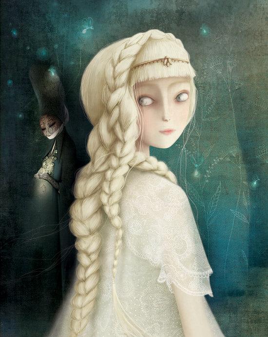 """couverture de """" La princesse de l'aube"""""""