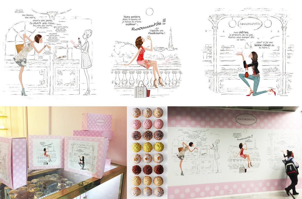 Fabienne Legrand Illustratrice Portfolio Illustrations
