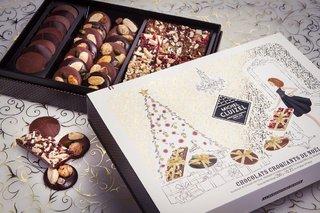 Boîtes de chocolat Noël de Michel Cluizel