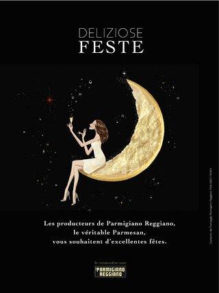 Affiche pour le collectif des Parmigiano Reggiano