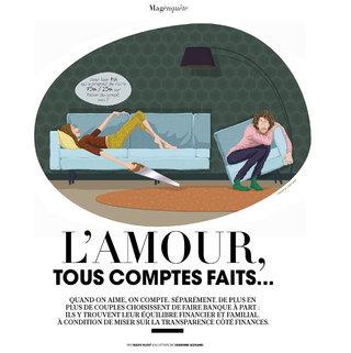 Illustration article Madame Figaro / Janvier 2021