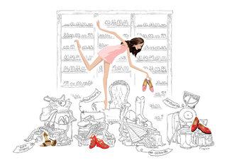 Illustration du dossier de presse de la maison Delage