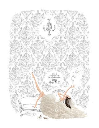 Illustration pour Marie Claire Italie