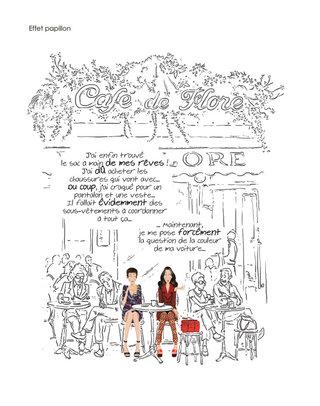 """Extrait de """"J'ai deux amours,  mon sac et Paris"""""""