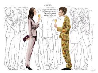 "Blog de Longchamp - ""La tendance pyjama"""