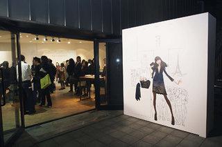 Soirée Presse Longchamp à Tokyo