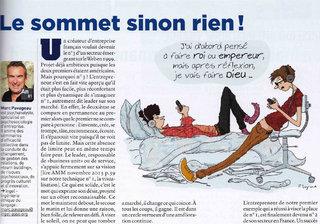 Illustration pour Arts et Métiers Magazine