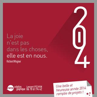 Vœux 2014 !