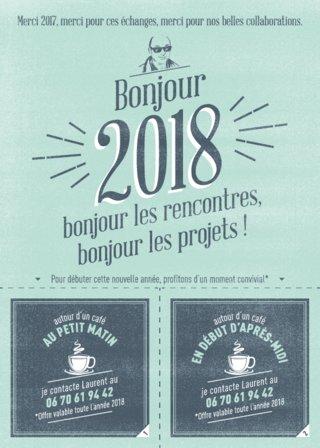 Carton Voeux 2018