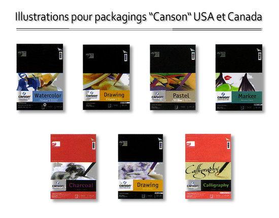 Illustrations Packaging