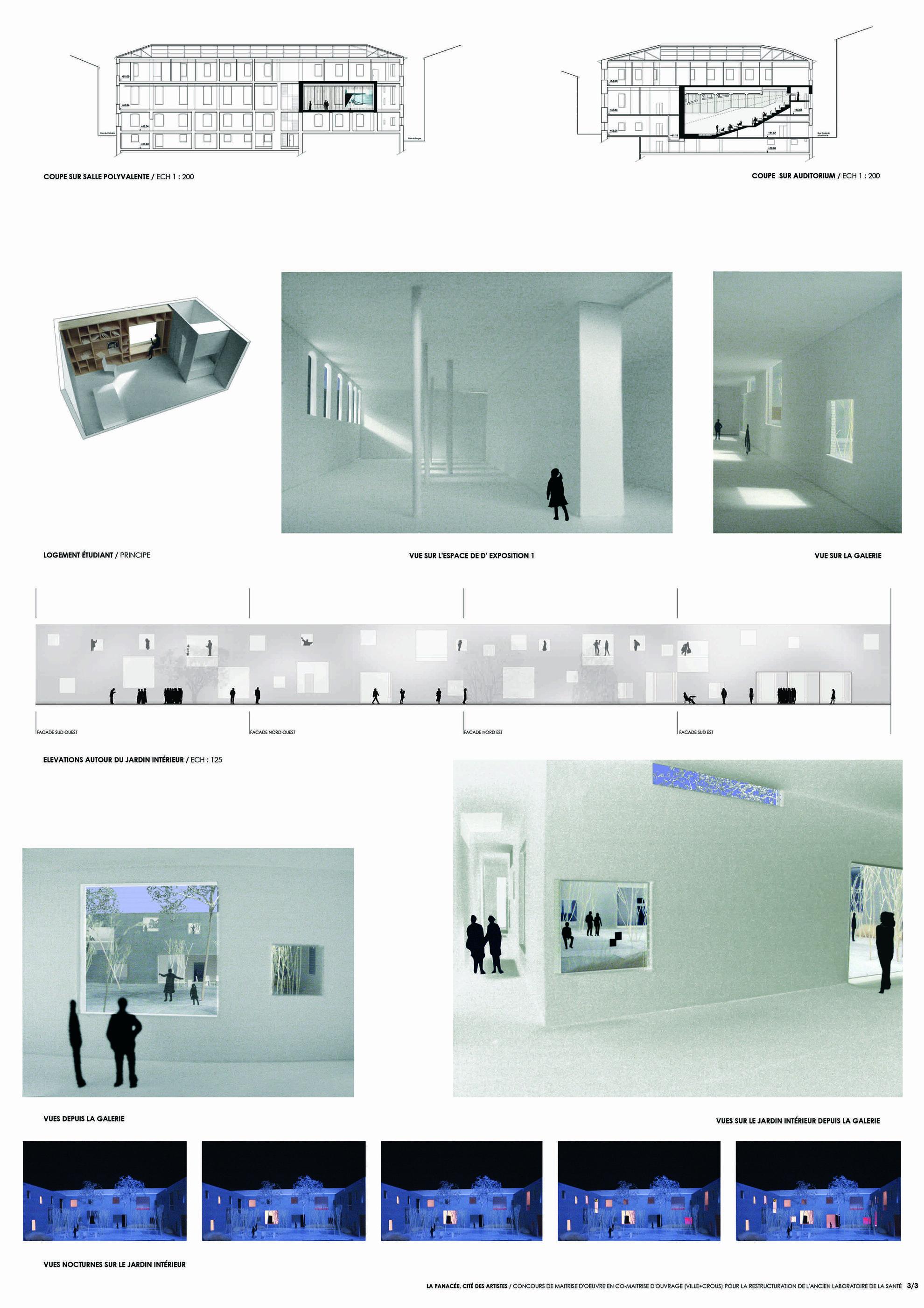 Maitrise D Oeuvre Montpellier thomas miraoui : portfolio :equipements publics