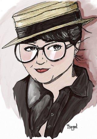 """[Portrait] Olivia """"à paris"""""""