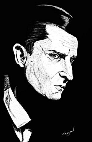 "Jérémy Brett ""Sherlock Holmes"""