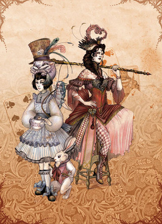 Alice et la reine rouge