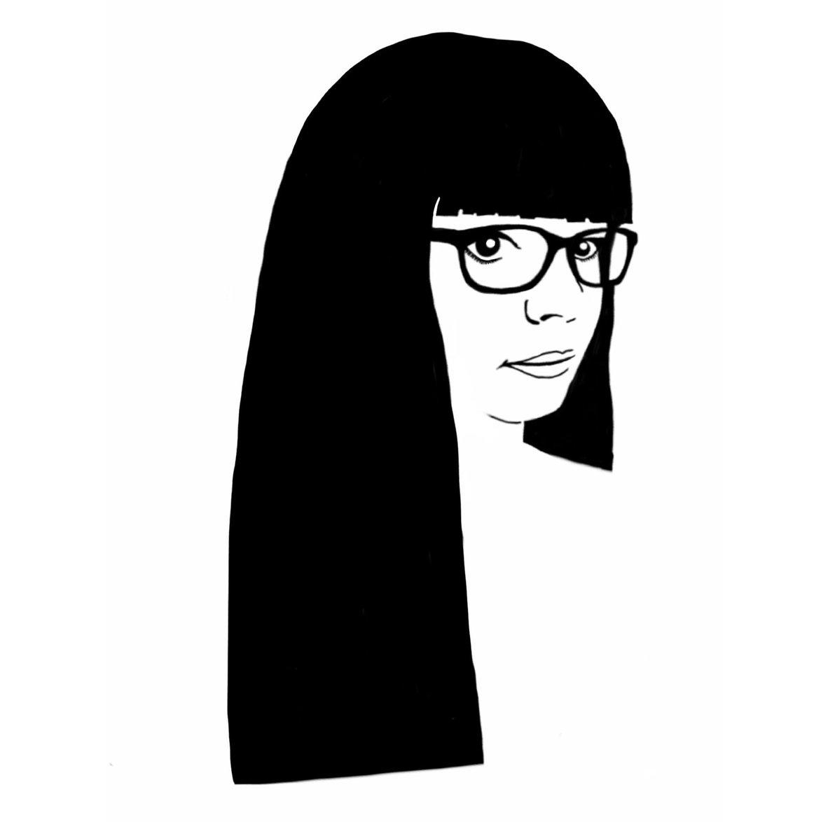 traits noirs page blanche portfolio  autoportraits