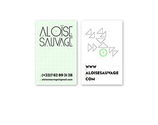 Aloïse Sauvage : conception graphique