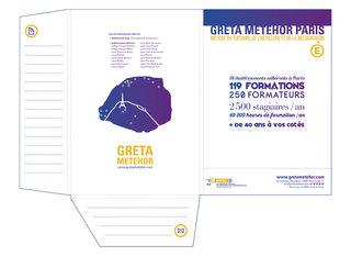 Greta Metehor Paris : conception graphique