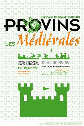 Les Médiévales de Provins : conception graphique