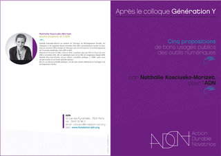 Fondation ADN : conception graphique