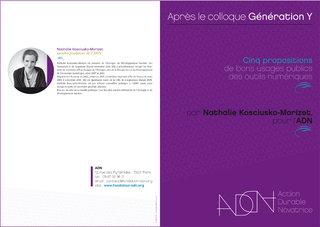 Fondation ADN : conception graphique