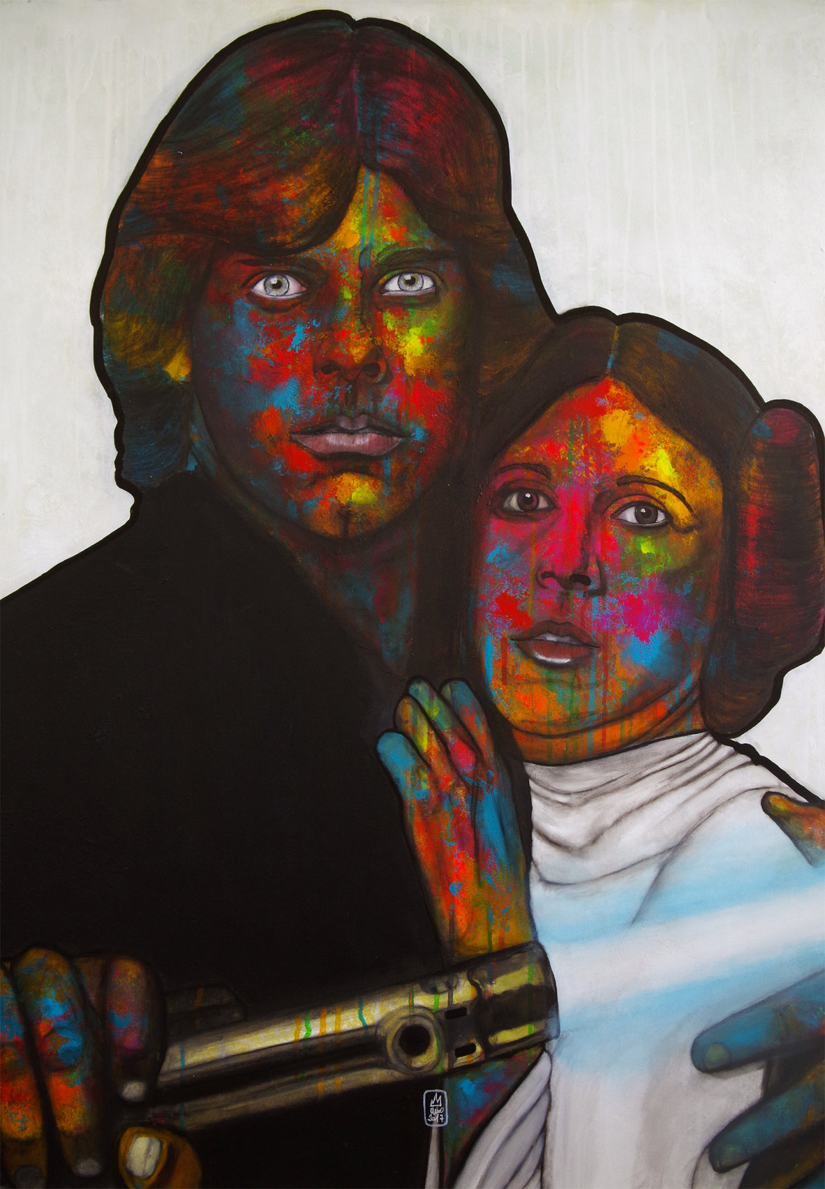 LUKE SKYWALKER & LEIA ORGANA-Star Wars