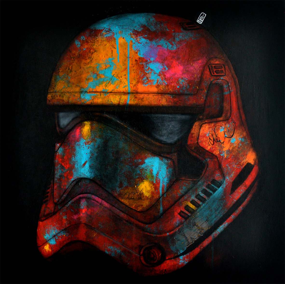 Stormtrooper Helmet New design