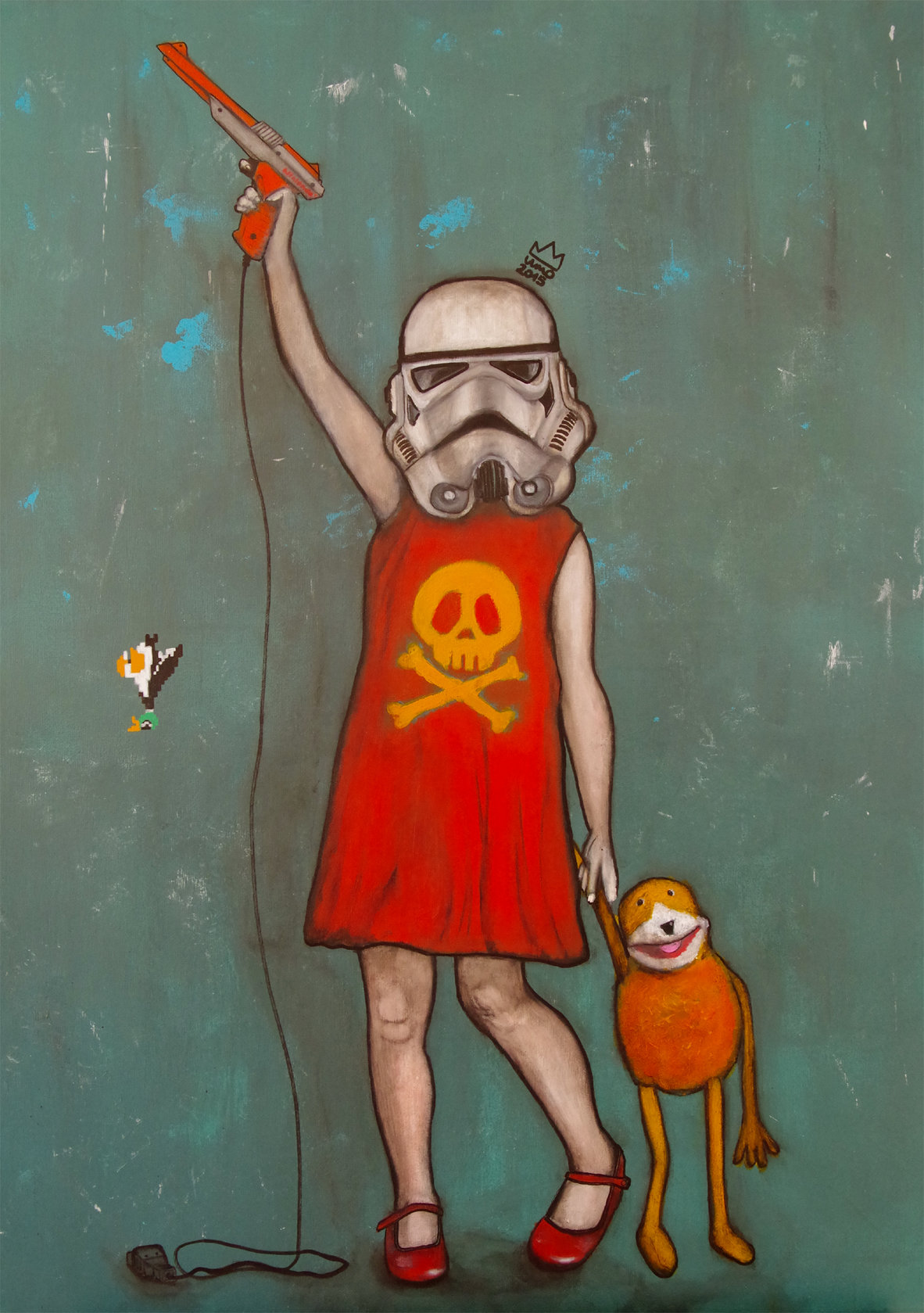 Stormtrooper little girl n°2