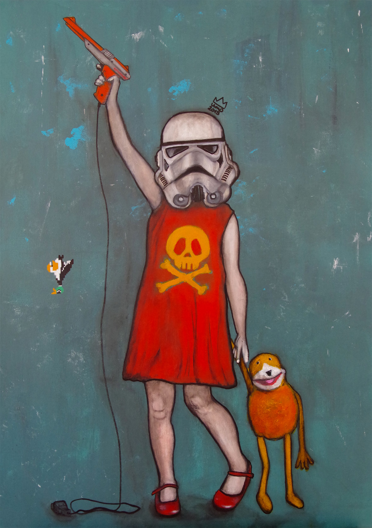 Stormtrooper-Little Girl