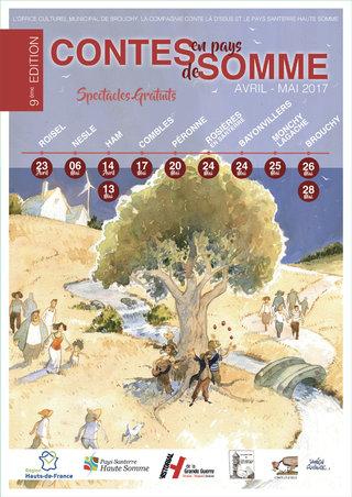 Affiche Contes en Pays de Somme 2017