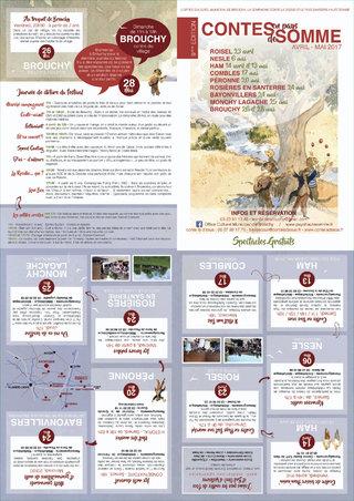Programme Contes en Pays de Somme 2017