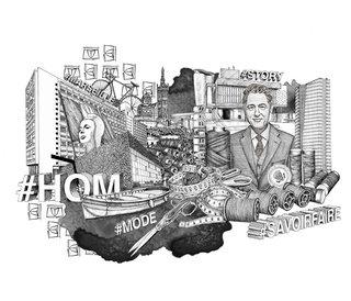 Illustration pour le mook#1 de HOM