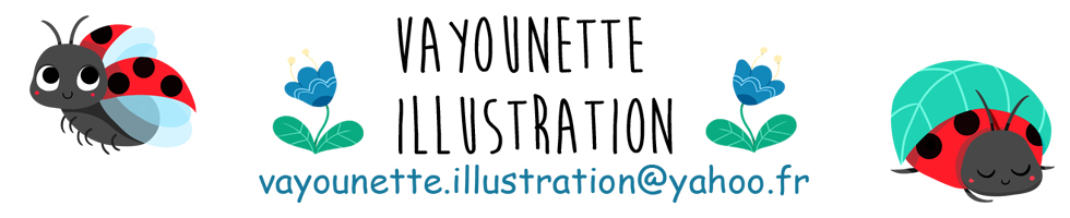 Vayounette illustratricebibliographie : mes publications