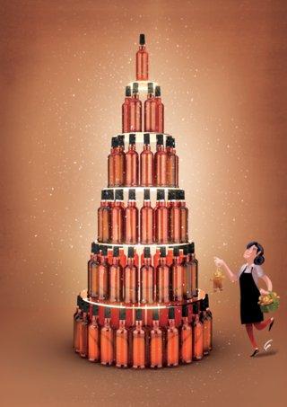 Alcools bruns Noël 2016
