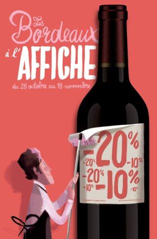 Les Bordeaux à l'affiche