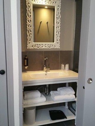 Mini salle de douche