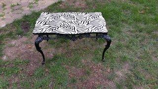 Relooking d'une table