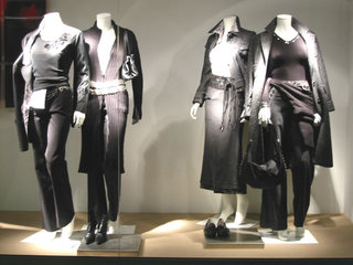 Mannequins groupés