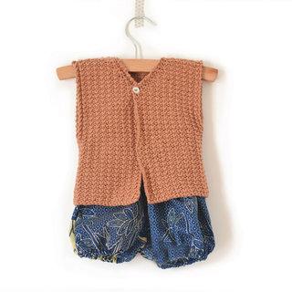 Gilet tricot bébé Emile