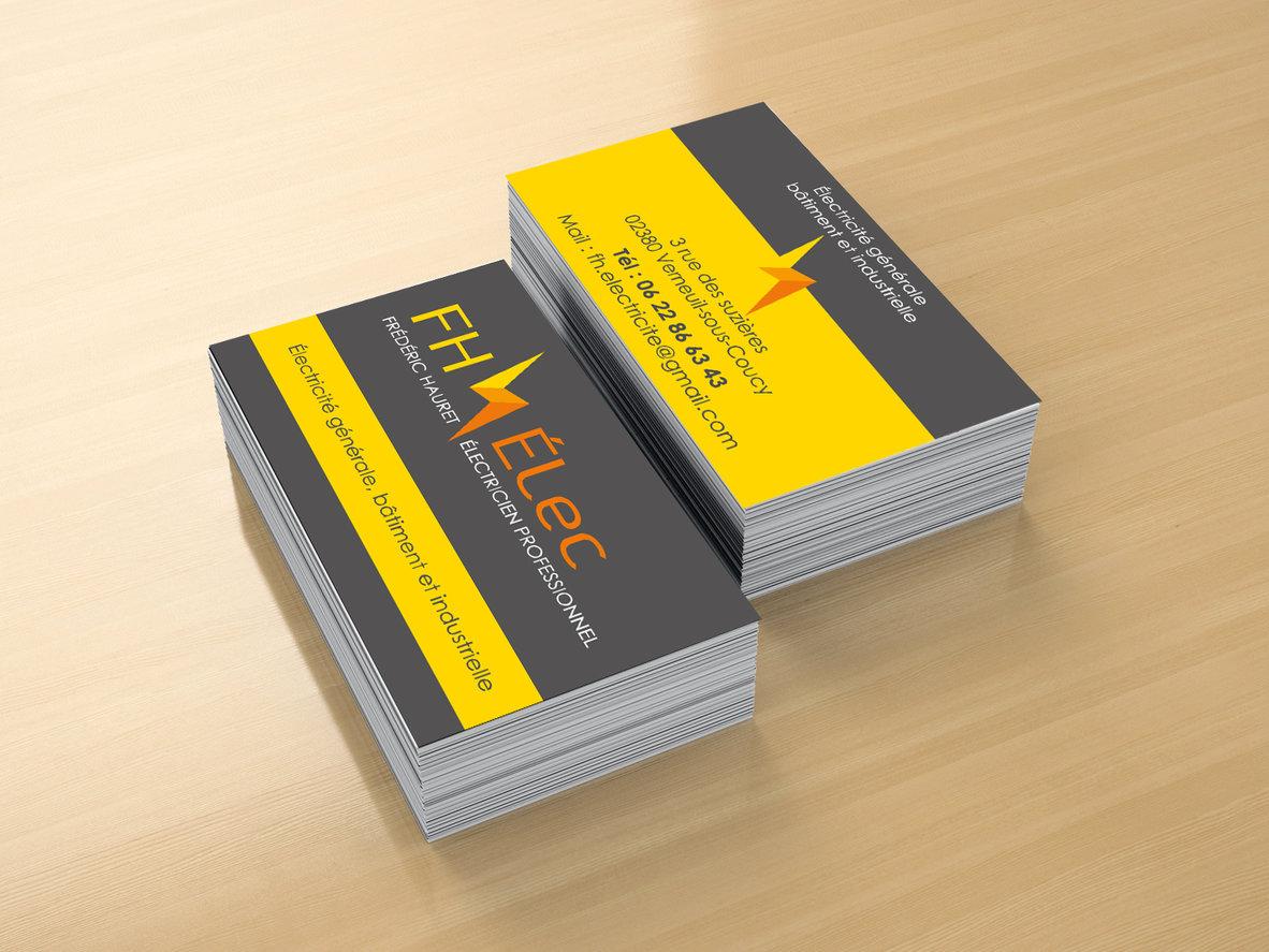 Carte De Visite FH Elec Print Web