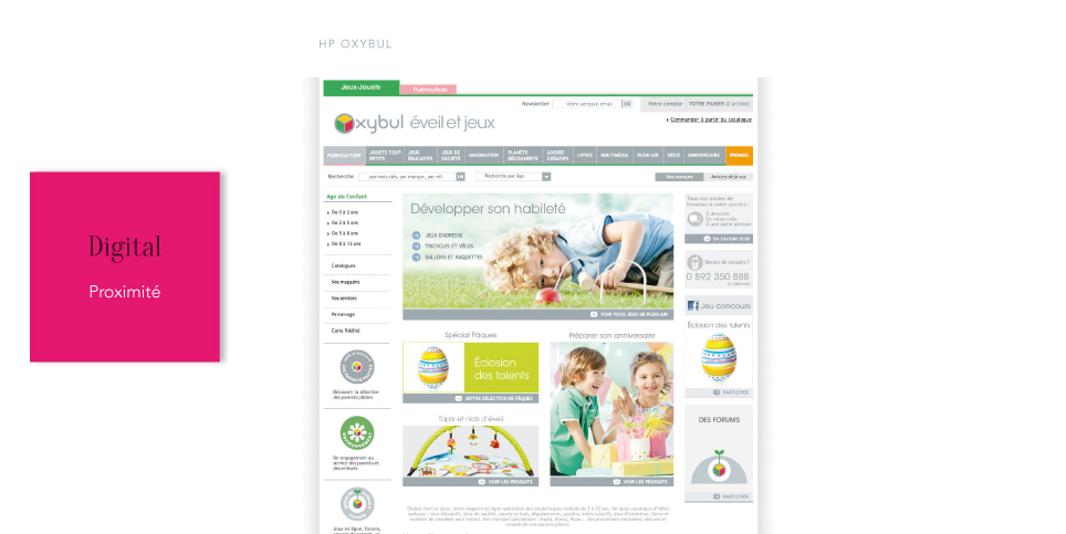 OXYBUL<br/><span>Refonte Home page</span>