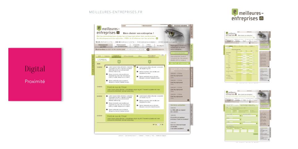 MEILLEURES-ENTREPRISES.FR<br/><span>Site RH de notations d'entreprises</span>