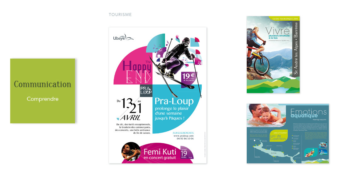 Tourisme<br/><span>Support marketing fidélisation</span>