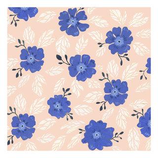 all over fleurs bleues carre rose.jpg