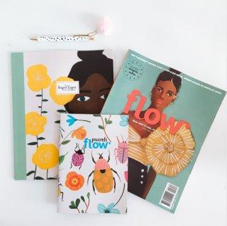 Carnet d'illustrations pour Flow Magazine NL